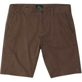 Hippy Tree Ridge Shorts Hombre, brown